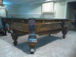 1926 Brunswick Balke Collender Antique Pool Table 4 1/2' X 9 ... Breckenridge Dark Oak Preowned Pool Tables Game Room Fniture Table Delivery And Install Archives Page 6 Of 13 Dk Amf Adirondack Chairs Pottery Barn Best 25 Table Repair Ideas On Pinterest Lego Shelves News Robbies Billiards Onlyatnm Only Here Ours Exclusively For You Handcrafted Lamps Pulley Light Ramapo Reno Awesome On Ideas Also Style