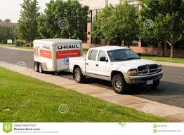 100 U Haul Pickup Trucks Cargo Trailer Editorial Photo Image Of Freight 99182836