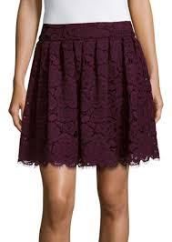 alice olivia alice olivia floral lace a line skirt skirts