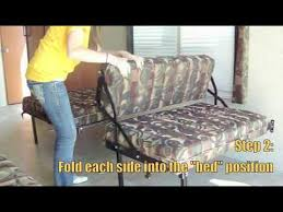 Rv Jackknife Sofa Furniture Eclipse by Hide Away Dinette Sofa Bed Toy Hauler Rv Travel Trailer Youtube