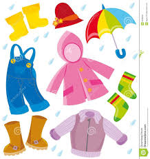 Spring Summer Clothes Clipart
