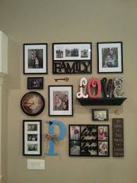 Collage Wall Ideas Best 25 Frames On Pinterest Family