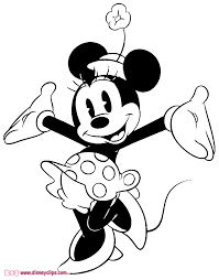 Classic Minnie Cheerful Mouse