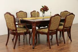 Dining Set, French Style 1940 Vintage Table, 3 Leaves, 6 Chairs Art Deco Ding Room Set Walnut French 1940s Renaissance Style Ding Room Ding Room Image Result For Table The Birthday Party Inlaid Mahogany Table With Four Chairs Italy Adams Northwest Estate Sales Auctions Lot 36 I Have A Vintage Solid Mahogany Set That F 298 As Italian Sideboard Vintage Kitchen And Chair In 2019 Retro Kitchen 25 Modern Decorating Ideas Contemporary Heywood Wakefield Fniture Mediguesthouseorg