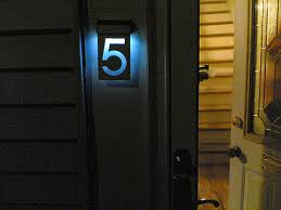 entertainment news solar powered house numbers