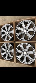 100 Chevy Truck Center Caps NewNew 22 Wheels Silverado Tahoe LTZ Real Factory Rims