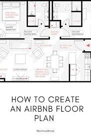Free Floor Planning How To Create An Amazing Airbnb Floor Plan Floor Plans