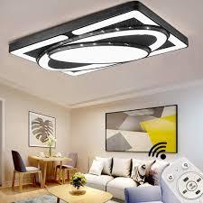 jinpiker led deckenleuchte 78w dimmbar deckenleuchten raumschiff panel led deckenle wohnzimmer schlafzimmer energieeinsparung innen beleuchtung