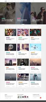 100 Modern Design Blog Gracio Is Clean And Modern Design Photoshop Template For