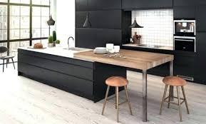 ilots cuisine cuisine avec ilot centrale ilots cuisine ilot central avec table