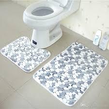 großhandel verstärken badezimmer boden matte satz anti rutsch matte für badezimmer badezimmer teppich tür matte carking 11 66 auf