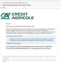 credit agricole si e social arnaque phishing credit agricole moreuil citizen