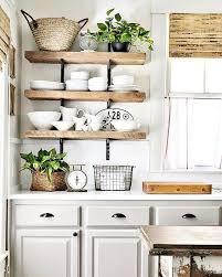 deco etagere cuisine étagères ouvertes dans la cuisine 53 idées photos