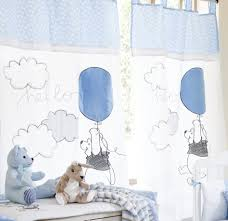 Winnie The Pooh Nursery Bedding by Baby Bedding Sets Blue Pooh Play 2 Curtains Baby Nursery Bedding
