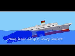 Ship Sinking Simulator Free Download by Antonia Graza Sinks In Sinking Simulator Youtube Bateau