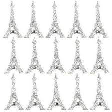 Our Eiffel Tower Dimensional Stickers Are A Silver Glitter Version Of The Iconic Landmark