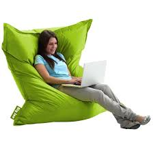 Big Joe Bean Bag Chair For Kids Original Spicy Lime