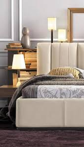 chambre lola gautier premium range gautier furniture mervent smoked oak modern bedroom