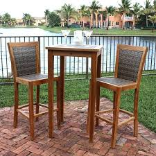 High Top Patio Furniture Sets by Bar Style Outdoor Patio Furniture A Stylish Patio Bar Set By