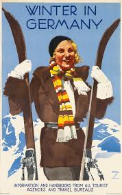 History Of Posters Modernist Skiing Advertisements For 1930s Europe