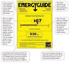 EnergyGuidew Descriptions The EnergyGuide Label