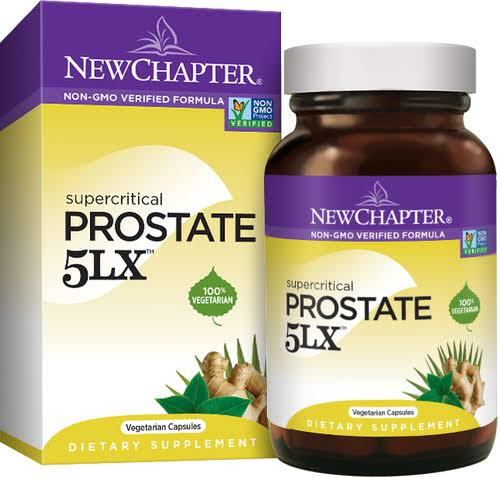 New Chapter Prostate 5lx Dietary Supplement - 180 Liquid Vcaps