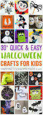 Halloween Things In Mn by Quick U0026 Easy Halloween Crafts For Kids Happiness Is Homemade