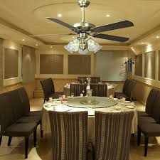 Luxury Ceiling Fan Dining Room