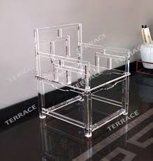 Acrylic Desk Chair With Cushion by Acrylic Dining Chairs Cheap Elegant Acrylic Glass Dining Room