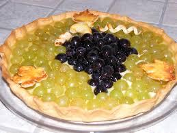 dessert aux raisins frais tarte aux deux raisins le de unparfumdekanille