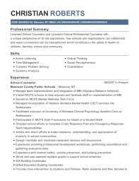 Licensed Clinical Professional Counselor Senior Editor Customize Resume View