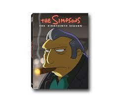 Best Halloween Episodes Of The Simpsons by Amazon Com Simpsons The Season 18 Simpsons U0026 Tv