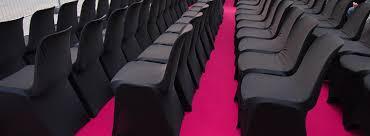 housse de chaise lycra location housses de chaise noires en lycra joli jour