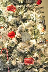 Christmas Tree Flocking Spray Can by Just So Lovely A Flocked Christmas Tree