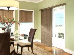 Window Treatments For Sliding Glass Doors In Living Room Dining