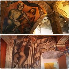 Jose Clemente Orozco Murales San Ildefonso by My Top 10 Museums In México City Mi Tonalli