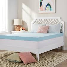 Cooling Bed Topper by Comfort Dreams U0027mem Cool U0027 4 Inch Memory Foam Mattress Topper