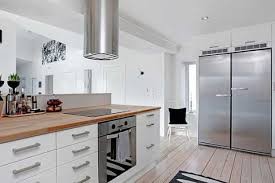 awesome kitchen design brighter with modern lighting