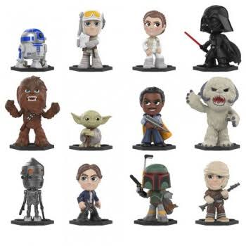 Funko Star Wars Mystery Mini Vinyl Figure Set - 6cm, 12pcs