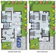100 Indian Bungalow Designs Image 1 Twin Layout Plan Patel Pride