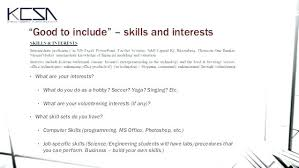 Hobbies To List On A Resume And Interests Awesome Skills