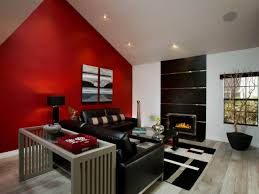 Full Size Of Living Room With Red Accents Accent Wall Colors Two