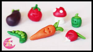 pâte à modeler les légumes