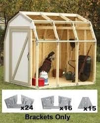 10x12 Barn Shed Kit by 2x4basics Shed Kits Creative Shelters