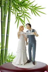 Free Shipping Indie Retro Vintage Style Bride And Groom Wedding Cake Topper Romantic For DecorationPrimero