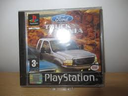 100 Truck Mania 1 Ford Playstation PS PAL New Sealed Pal Version