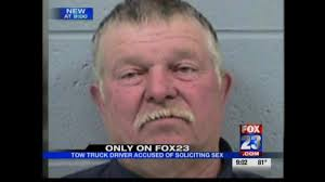 Tow Truck Driver Arrested For Soliciting Sex | FOX23 King Donald Trumpsupporting Tow Truck Driver Says God Told Him To The President And The Tow Truck Driver Drivers Get Plenty Of Time On Nburgring Too Bad Towtruck Drivers Pay Homage Comrade Killed In Bridge Hitandrun Virginia Fatally Shot While Repoessing Car Funeral Procession For Popular Job Be Held Julian Harrison Fotos Dies Miami Blvd Wreck I Dont Need A Flatbed Justrolledintotheshop Worst Ever Youtube