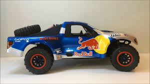 JPRC - RC Red Bull Trophy Truck Build Finished - Axial Yeti - YouTube