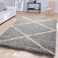 wohnzimmer teppich hochflor modernes skandi real de