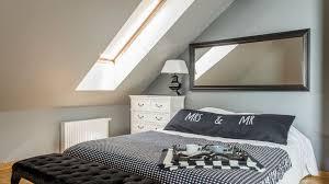 dachschrä gestalten so richtet ihr euer schlafzimmer